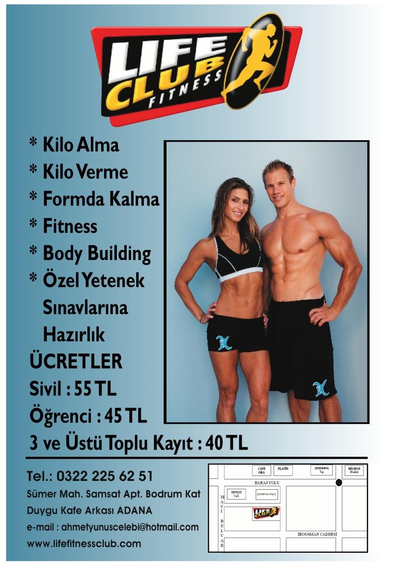 Life Club Fitness Spor Salonundan ÇÜEMM'e Özel Kampanya!